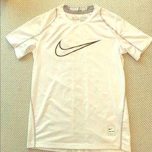 Nike Shirts & Tops - Nike Pro dry fit athletic shirt boys size medium